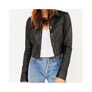 Lord & Taylor Jackets & Coats - Vintage Leather Trucker Jacket 🖤
